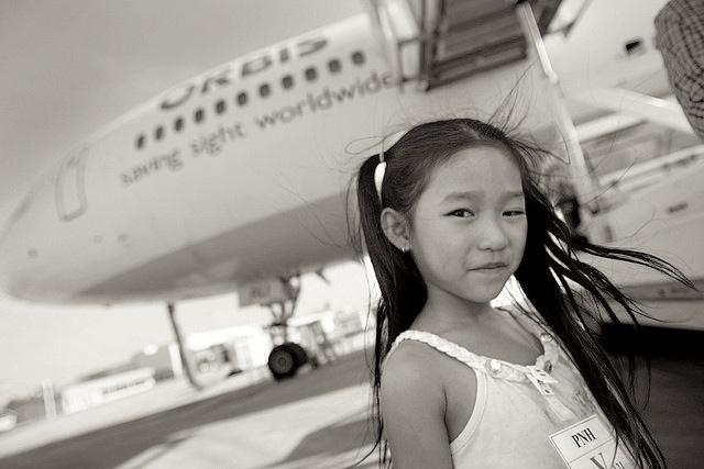ORBIS's Flying Eye Hospital visits Phnom Penh, Cambodia