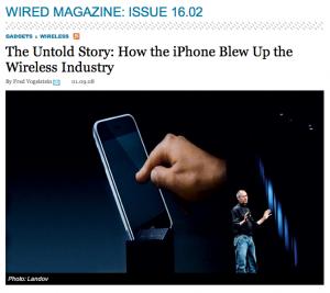 Wired Magazine 2008
